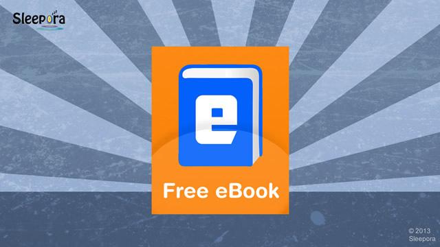 Free eBook - Sleep Better