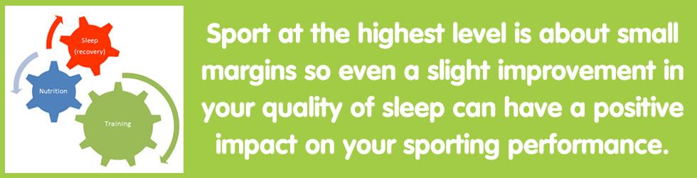 Training | Nutrition | Sleep = High Level Sporting Performance